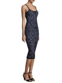 Michael Kors Collection - Floral Jacquard Dress at Saks Fifth Avenue