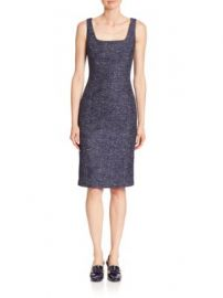 Michael Kors Collection - Twill Jacquard Dress at Saks Fifth Avenue