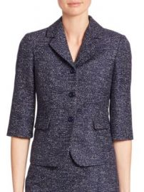 Michael Kors Collection - Twill Jacquard Jacket at Saks Fifth Avenue