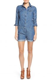 Michael Kors Denim Romper at Nordstrom