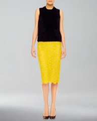Michael Kors Lace Pencil Skirt at Neiman Marcus