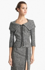Michael Kors Origami Collar Tweed Jacket at Nordstrom