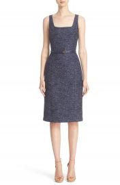 Michael Kors Wool Jacquard Dress at Nordstrom