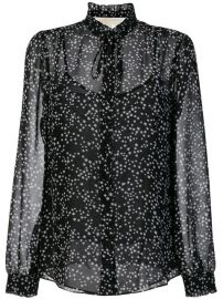 Michael Michael Kors Star Print Blouse at Farfetch
