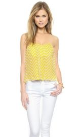 Michelle Mason Strapless Top at Shopbop