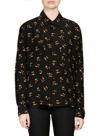 Mickey Mouse Blouse Saint Laurent at Saks Fifth Avenue