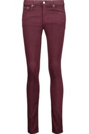 Mid-rise skinny jeans x at The Outnet