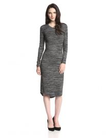 Midi Marled Dress at Amazon