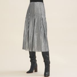 Midi Sequinned Skirt by Maje at Maje