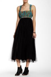 Midnight Fringe Maxi Dress at Nordstrom Rack