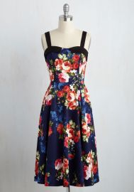 Midnight in Terrace Dress at ModCloth