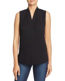 Mila Stretch Silk Top at Bloomingdales