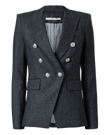 Miller Herringbone Jacket by Veronica Beard at Intermix