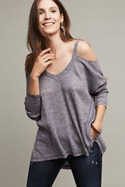 Millipa Open-Shoulder Top at Anthropologie