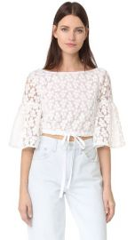 Milly Floral Embroidery Lydia Top at Shopbop