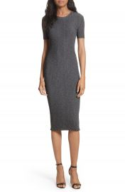Milly Stardust Rib Knit Sheath Dress at Nordstrom