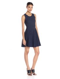 Milly Vertical Dot Dress at Amazon