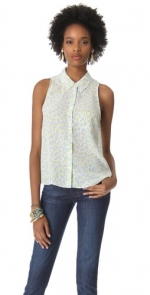 Mina blouse by Equipment at Shopbop
