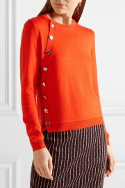 Minamoto Embellished Merino Wool Sweater by Altuzarra at Net A Porter