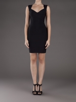 Mindy's Herve Leger dress at Farfetch