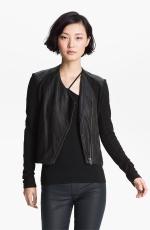 Mindys black leather jacket at Nordstrom at Nordstrom
