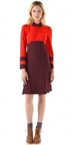 Mindy's red Marc Jacobs dress at Shopbop at Shopbop