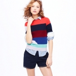 Mindy's striped sweater from JCrew at J. Crew