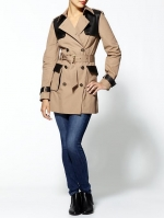 Mindy's trench coat at Piperlime at Piperlime