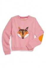 Mini Boden Appliqu Sweatshirt at Nordstrom
