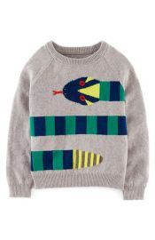 Mini Boden Pattern Sweater at Nordstrom
