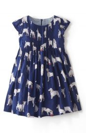 Mini Boden and39Pretty Pintuckand39 Dress at Nordstrom