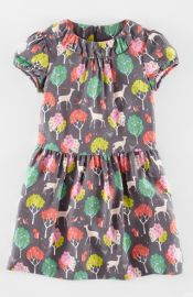 Mini Boden and39Teaand39 Print Dress at Nordstrom