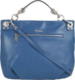 Mini Luscious Hobo by Rebecca Minkoff in blue at Barneys Warehouse