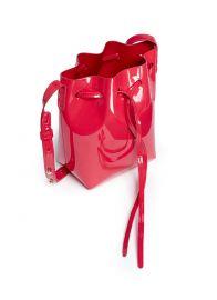 Mini Mini Patent Leather Bucket Bag by Mansur Gavriel at Lane Crawford