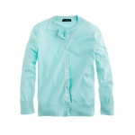 Mint green cardigan from J crew at J. Crew