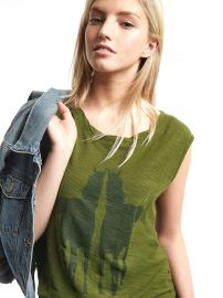 Mirrored Horse Graphic Tee at Gap