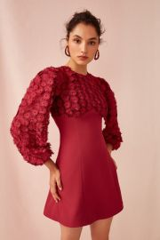 Mirrors Long Sleeve Dress by Keepsake at Fashion Bunker