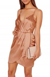 Missguided Satin Minidress at Nordstrom