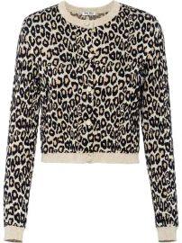 Miu Miu Leopard Print Cardigan - Farfetch at Farfetch
