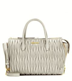 Miu Miu Matelasse Leather Satchel at Nordstrom