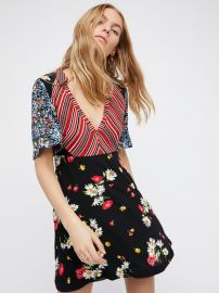 Mix It Up Printed Dress at Free People