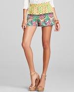 Mixed print shorts by BCBG at Bloomingdales