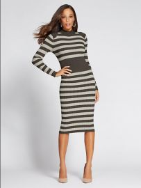 Mock-Neck Sweater Dress - Gabrielle Union Collection by New York  Company at NY&C