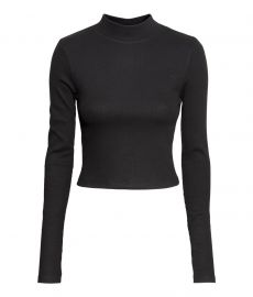 Mock neck top at H&M