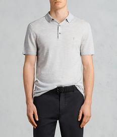 Mode Merino SS Polo at All Saints