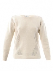 Modern Borders Sweater by Helmut Lang at Matches