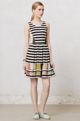 Modern Composition Dress at Anthropologie