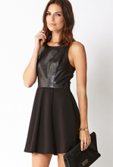 Modernist Fit and Flare Dress at Forever 21