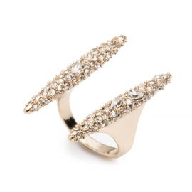 Modernist Spear Ring at Alexis Bittar