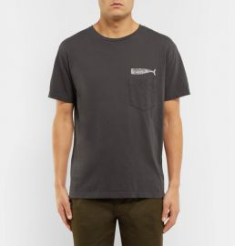 Mollusk Olde Whale Printed Cotton-Jersey T-Shirt at Mr Porter
